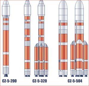 """CZ-5 """"Великий поход-5""""."""
