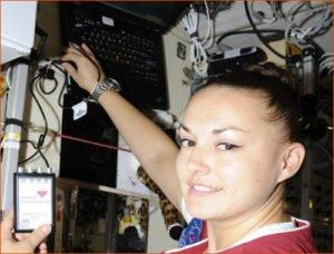 российская космонавтка Елена Серова