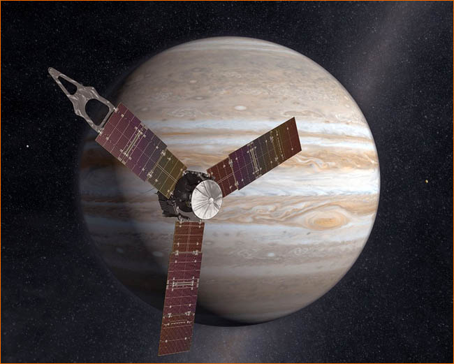 "межпланетная станция ""Juno"" Jupiter Polar Orbiter"