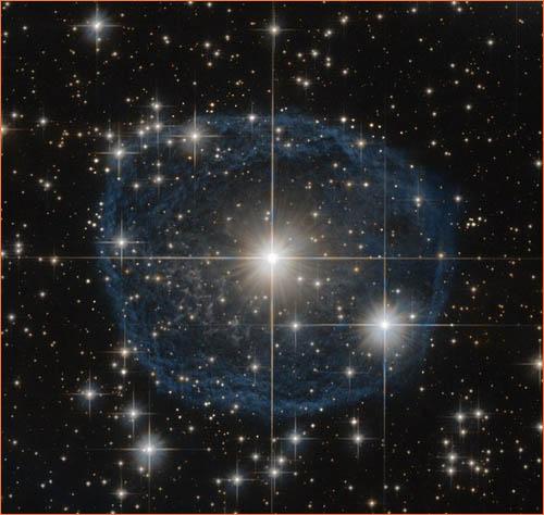 Звезда WR 31a класса «Вольфа-Райе».