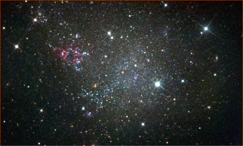 Галактика IC 1613 чистая