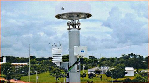 станция ГЛОНАСС в Бразилии.