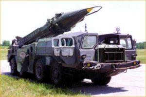 модифицированная советская «Скад»
