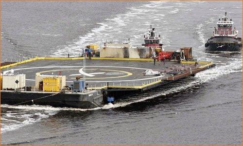 """Морская площадка для посадки ракеты Falcon 9 """"Of Course I Still Love You"""""""