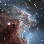 Туманность NGC 2174 в инфракрасном диапазоне.