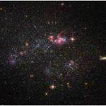 Карликовая галактика UGC 4459, снимок с «Хаббл».