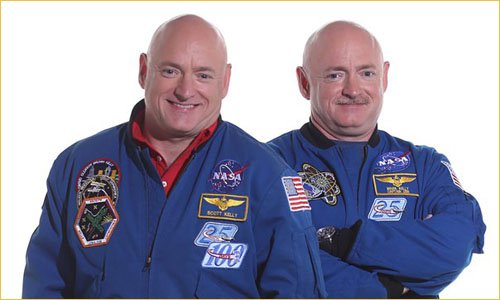 Скотт Келли и Марк Келли астронавты NASA