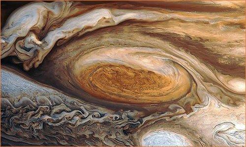 Юпитер большое красное пятно