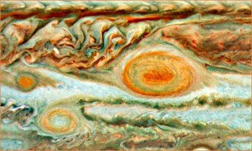 Юпитер малое красное пятно