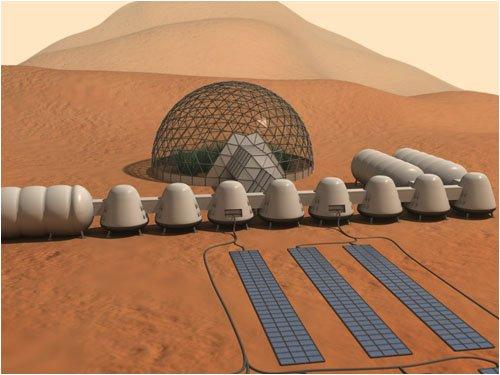 Автономные жилые комплексы на Марсе