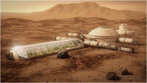 Автономная колония на Марсе