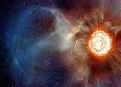 Ученые нашли изотоп железа из сверхновой звезды