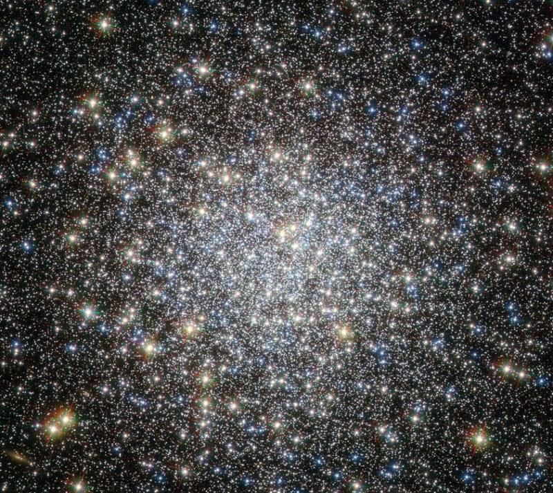 Фото шарового скопления звезд М2