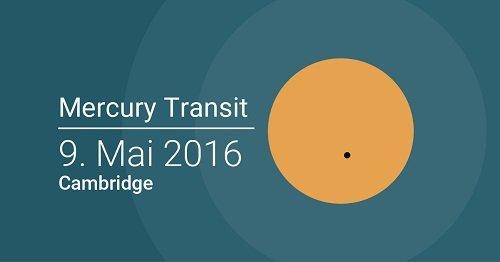 Транзит Меркурия через корону Солнца 9 мая 2016 года