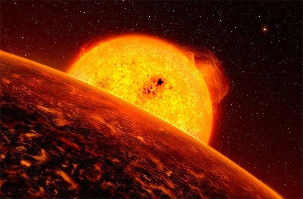 Планеты из фильма Звездные войны Мустафар
