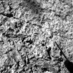 Макрофотосъемка породы на Марсе