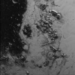 Горная система из льда
