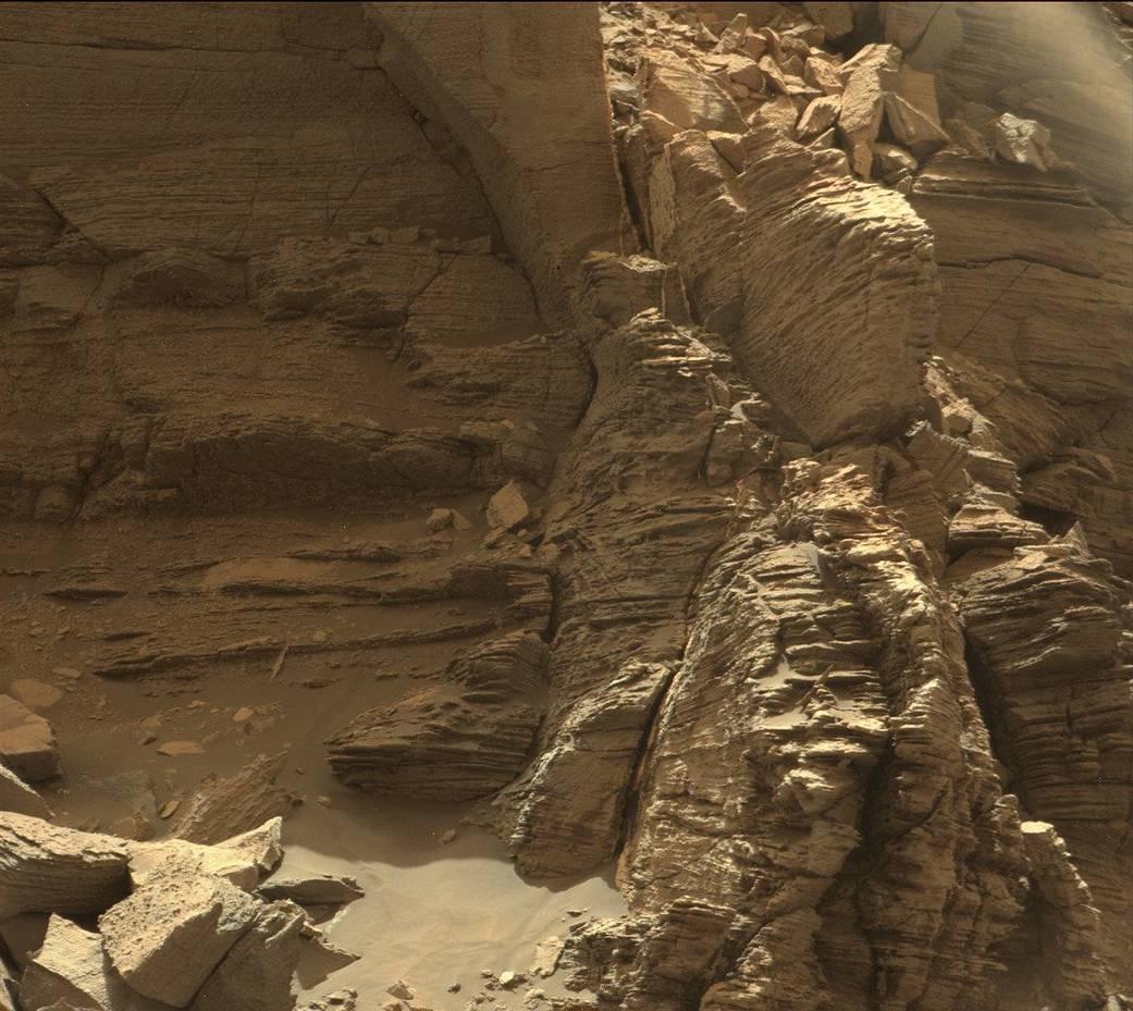 Марсианский рельеф